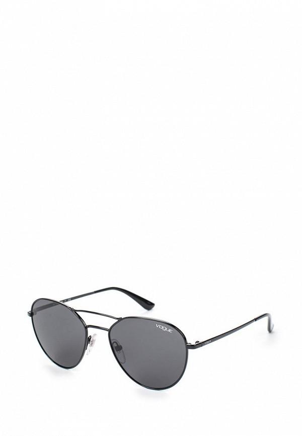 Очки солнцезащитные Vogue® Eyewear Vogue® Eyewear VO007DWTZD76 vogue vogel очки черного кадра серебряного покрытия линза мода полной оправе очки vo5067sd w44s6g 56мм