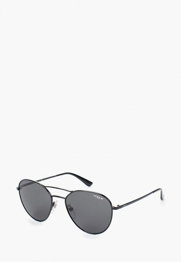 Купить Очки солнцезащитные Vogue® Eyewear, VO4060S 352/87, VO007DWTZD76, черный, Весна-лето 2018
