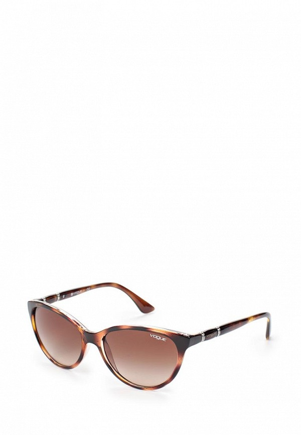 Очки солнцезащитные Vogue® Eyewear Vogue® Eyewear VO007DWTZD84 baon весна лето 2017 vogue