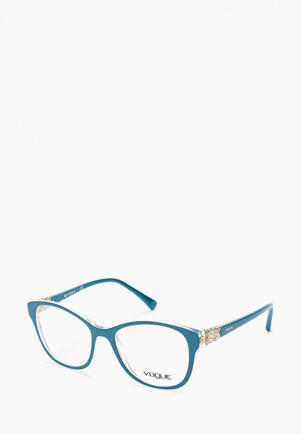 Оправа Vogue® Eyewear, VO5169B 2564, VO007DWUUS80, синий, Весна-лето 2018  - купить со скидкой