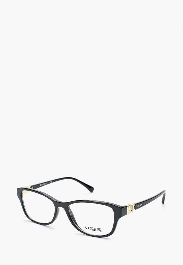 Оправа Vogue® Eyewear, VO5170B W44, VO007DWUUS83, черный, Весна-лето 2018  - купить со скидкой