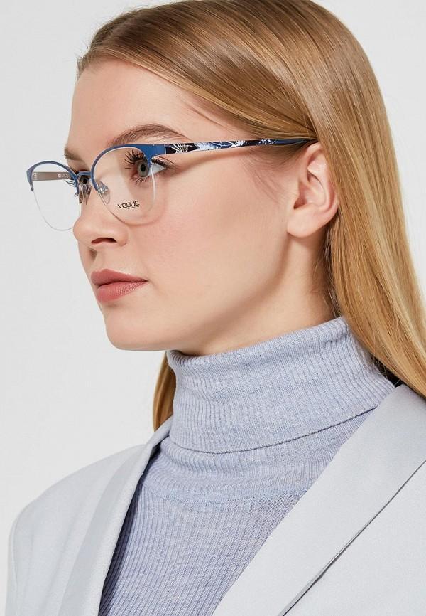 Фото 5 - Оправа Vogue® Eyewear синего цвета