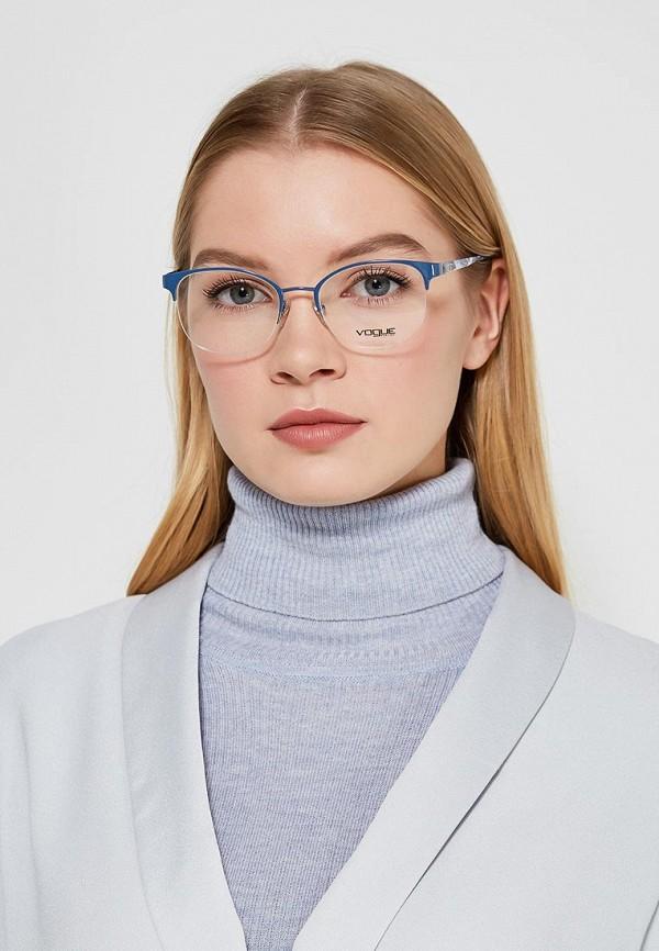 Фото 4 - Оправа Vogue® Eyewear синего цвета