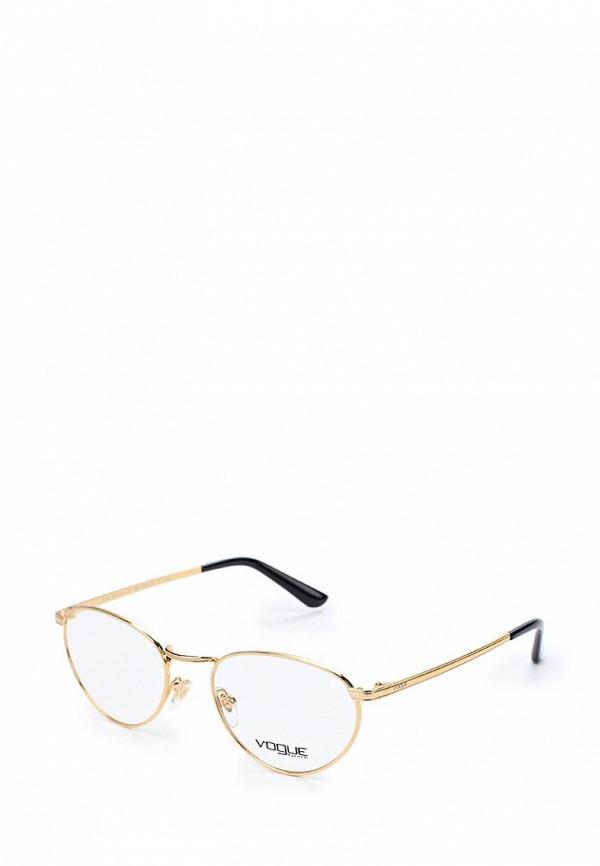 Купить Оправа Vogue® Eyewear, VO4084 280, VO007DWZBC58, золотой, Весна-лето 2018