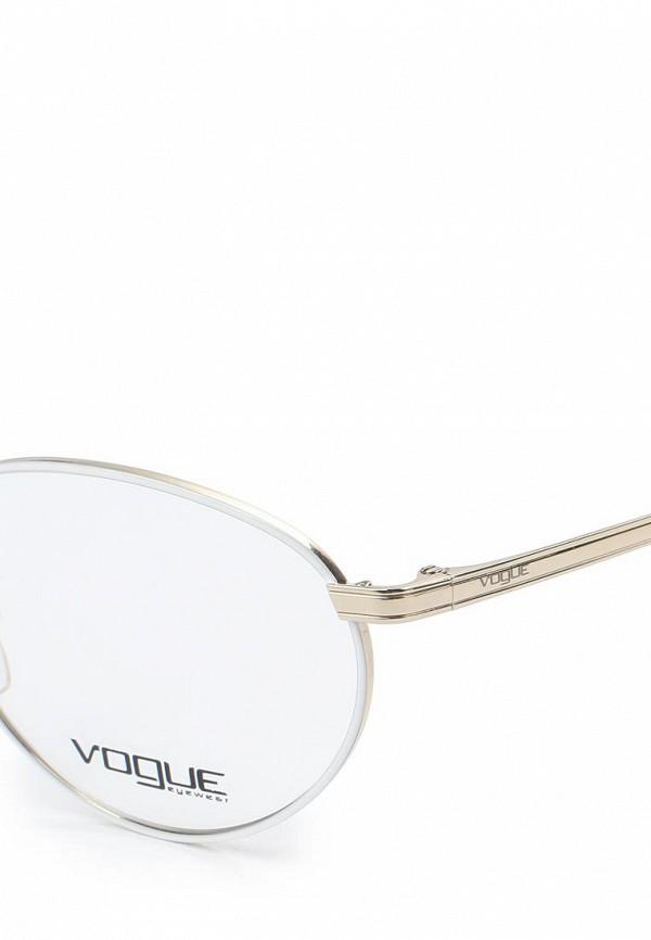 Фото 2 - Оправа Vogue® Eyewear серебрянного цвета
