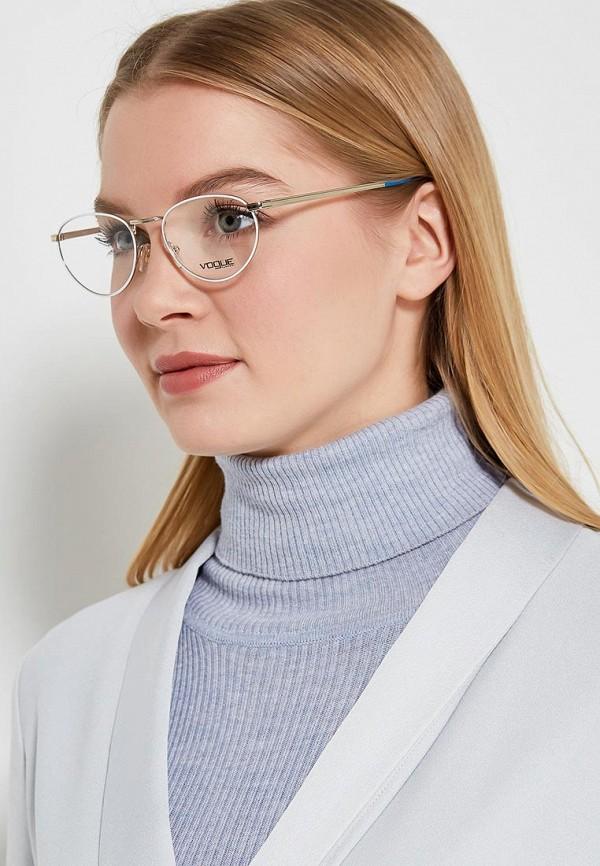 Фото 5 - Оправа Vogue® Eyewear серебрянного цвета