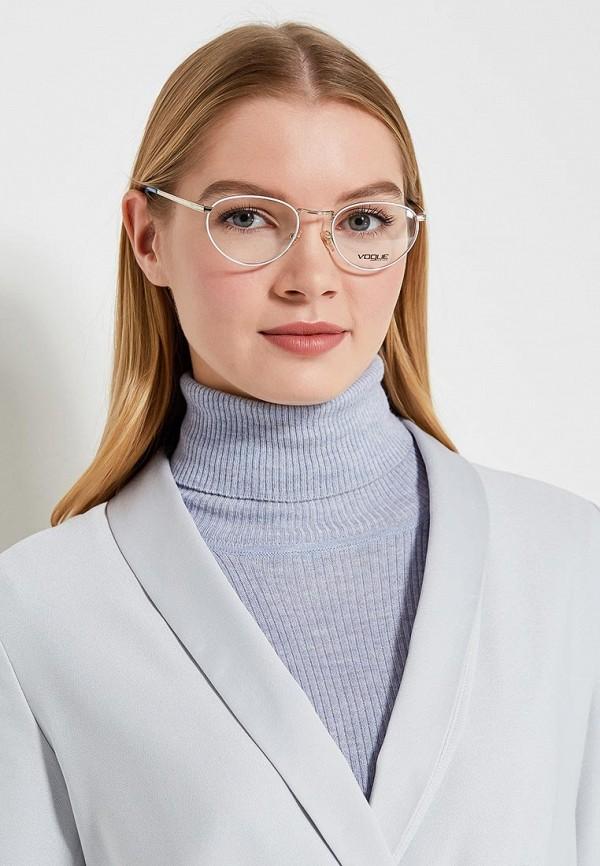 Фото 4 - Оправа Vogue® Eyewear серебрянного цвета