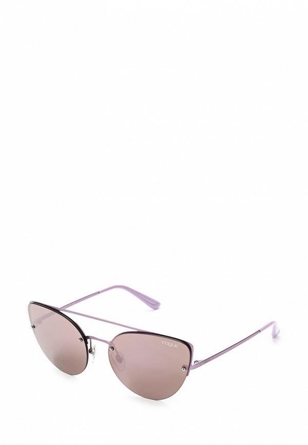 Очки солнцезащитные Vogue® Eyewear Vogue® Eyewear VO007DWZBF29 vogue vogel очки черного кадра серебряного покрытия линза мода полной оправе очки vo5067sd w44s6g 56мм