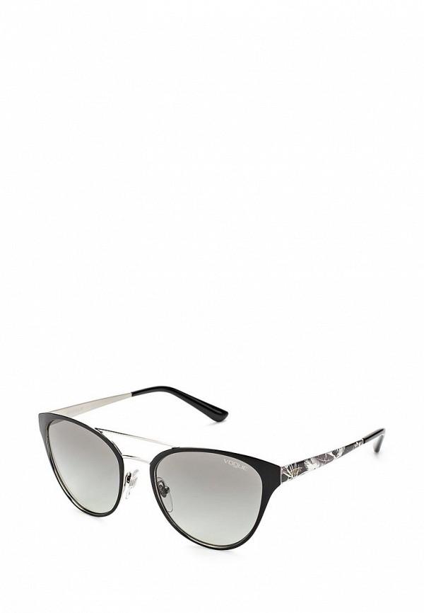 Купить Очки солнцезащитные Vogue® Eyewear, VO4078S 352/11, VO007DWZBF31, черный, Весна-лето 2018