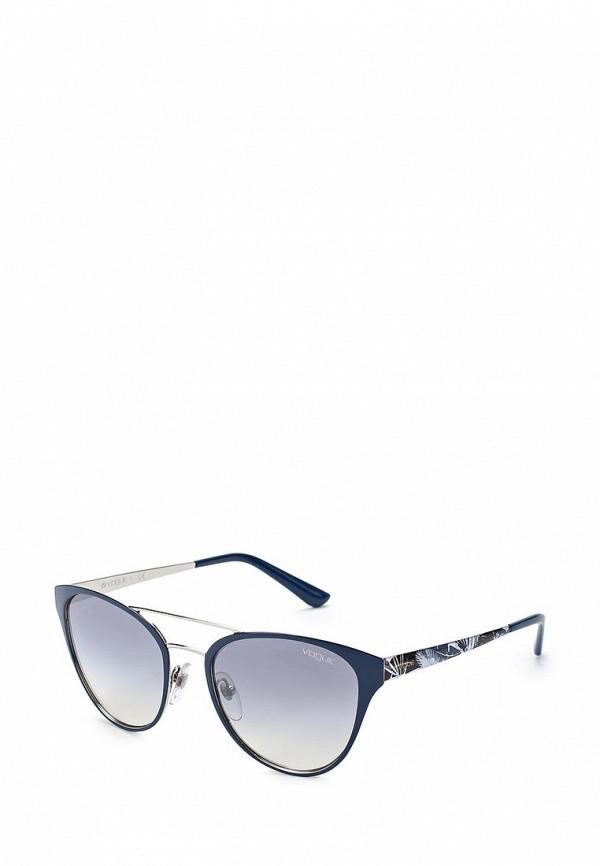 Очки солнцезащитные Vogue® Eyewear Vogue® Eyewear VO007DWZBF33 vogue vogel очки черного кадра серебряного покрытия линза мода полной оправе очки vo5067sd w44s6g 56мм