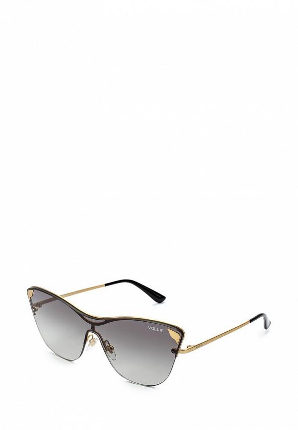 Купить Очки солнцезащитные Vogue® Eyewear, VO4079S 280/11, VO007DWZBF34, золотой, Весна-лето 2018