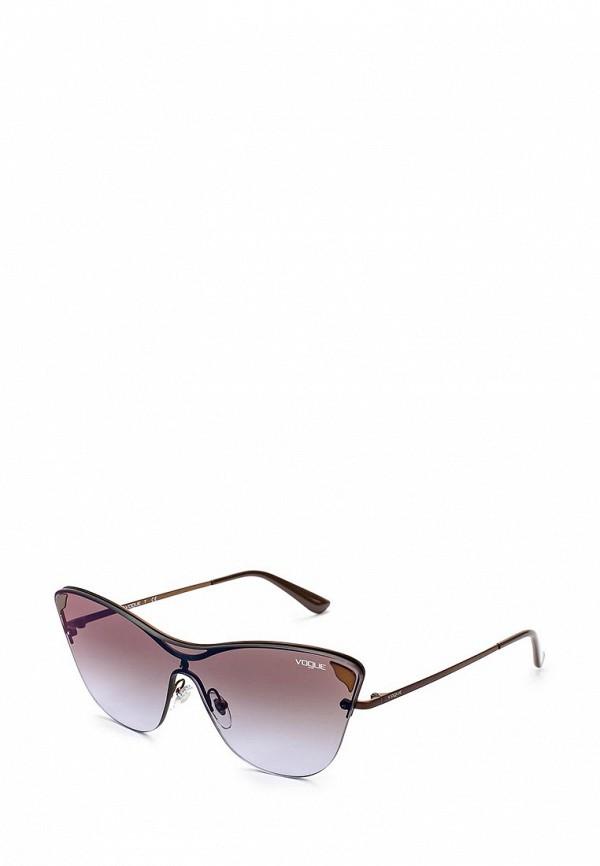 Очки солнцезащитные Vogue® Eyewear Vogue® Eyewear VO007DWZBF35 vogue vogel очки черного кадра серебряного покрытия линза мода полной оправе очки vo5067sd w44s6g 56мм