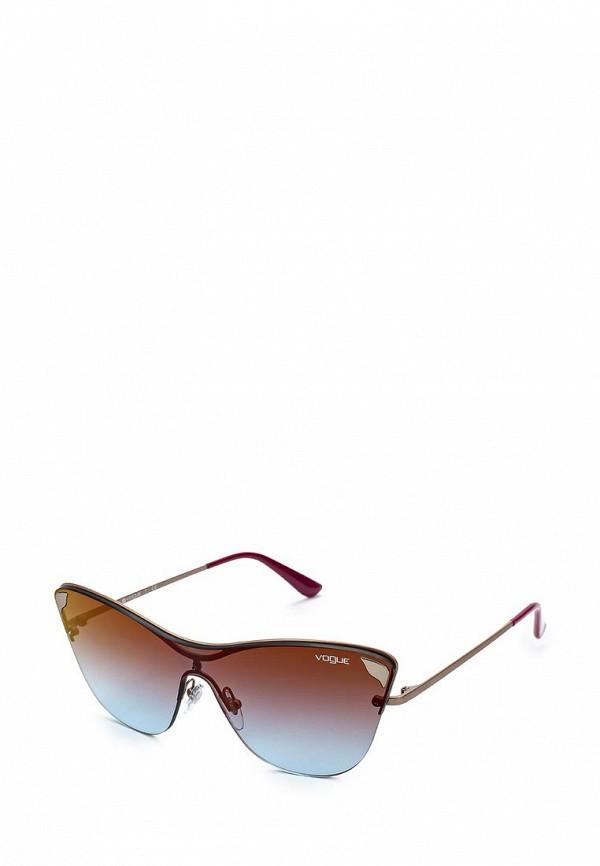 Очки солнцезащитные Vogue® Eyewear Vogue® Eyewear VO007DWZBF36 vogue vogel очки черного кадра серебряного покрытия линза мода полной оправе очки vo5067sd w44s6g 56мм
