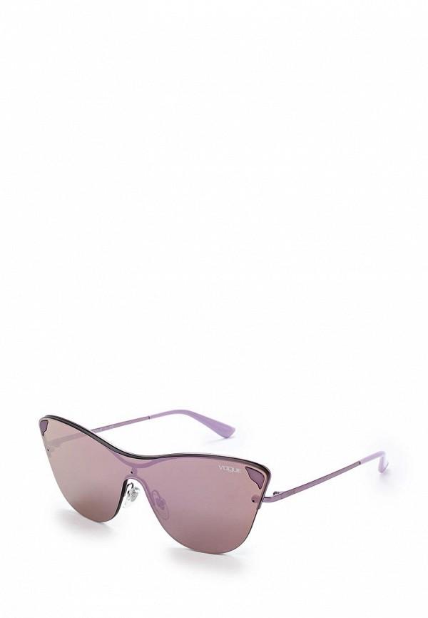 Очки солнцезащитные Vogue® Eyewear Vogue® Eyewear VO007DWZBF37 vogue vogel очки черного кадра серебряного покрытия линза мода полной оправе очки vo5067sd w44s6g 56мм