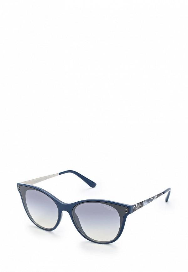 Очки солнцезащитные Vogue® Eyewear Vogue® Eyewear VO007DWZBF39 vogue vogel очки черного кадра серебряного покрытия линза мода полной оправе очки vo5067sd w44s6g 56мм