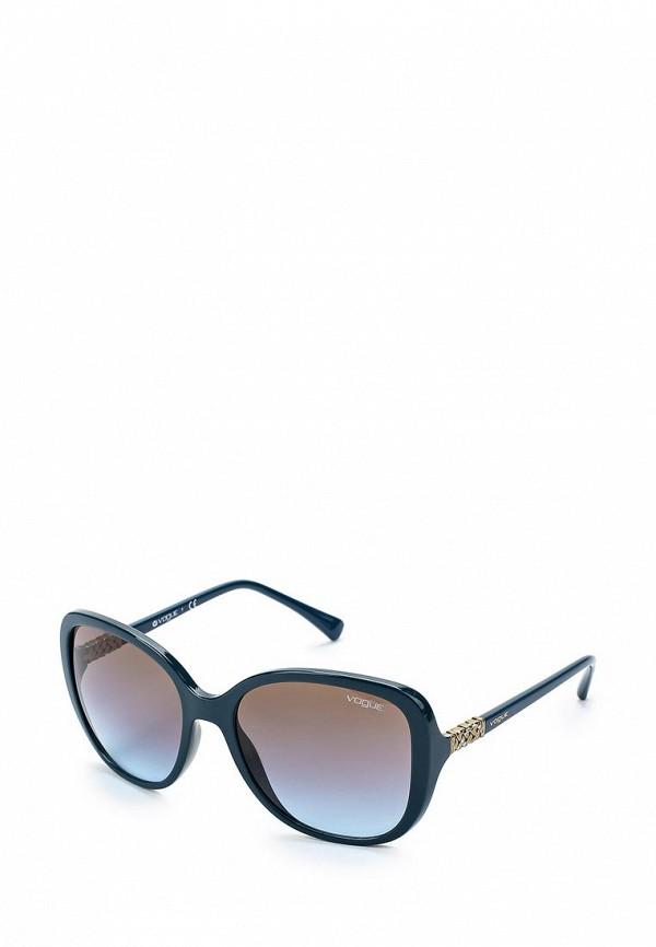 Очки солнцезащитные Vogue® Eyewear Vogue® Eyewear VO007DWZBF46 vogue vogel очки черного кадра серебряного покрытия линза мода полной оправе очки vo5067sd w44s6g 56мм