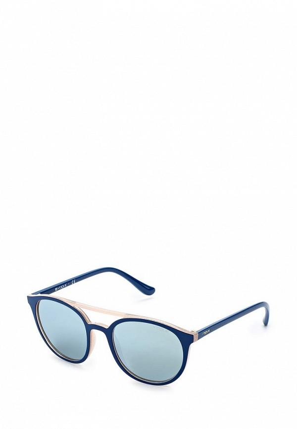 Очки солнцезащитные Vogue® Eyewear Vogue® Eyewear VO007DWZBF49 vogue vogel синий кадр серый градиент объектив солнцезащитные очки моды полные оправе очки солнцезащитные очки vo2993sf 235611 57мм