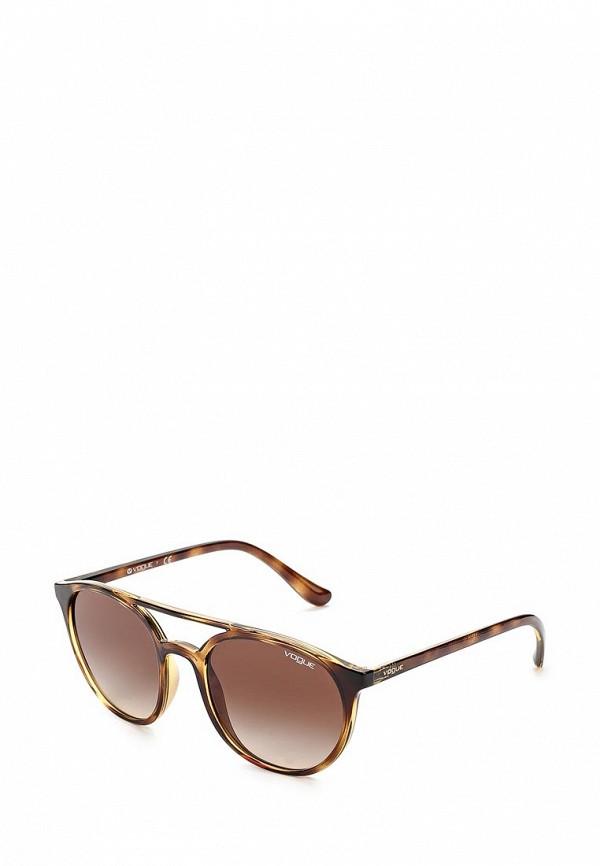 Очки солнцезащитные Vogue® Eyewear Vogue® Eyewear VO007DWZBF54 vogue vogel очки черного кадра серебряного покрытия линза мода полной оправе очки vo5067sd w44s6g 56мм