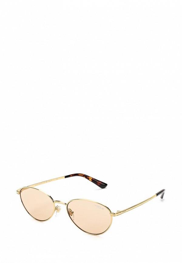 Купить Очки солнцезащитные Vogue® Eyewear, VO4082S 280/73, VO007DWZBF56, золотой, Весна-лето 2018