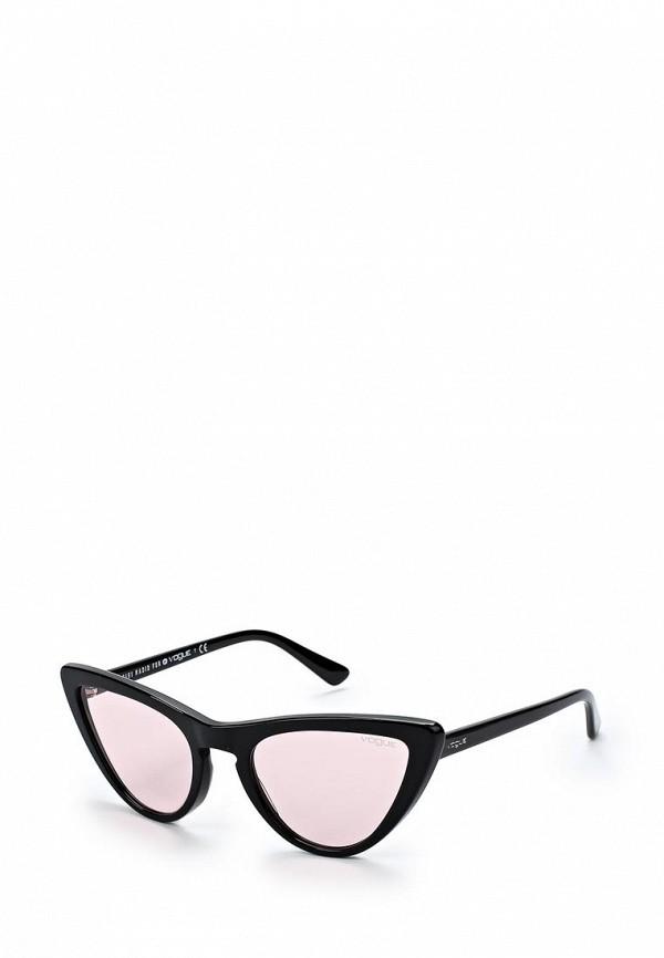 Купить Очки солнцезащитные Vogue® Eyewear, VO5211S W44/5, VO007DWZBF61, черный, Весна-лето 2018