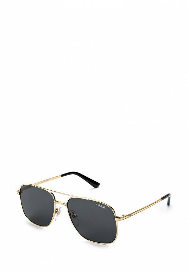 Купить Очки солнцезащитные Vogue® Eyewear, VO4083S 280/87, VO007DWZBF66, золотой, Весна-лето 2018