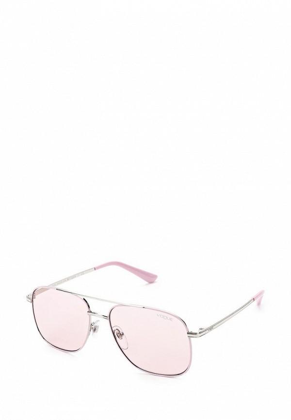 Очки солнцезащитные Vogue® Eyewear Vogue® Eyewear VO007DWZBF67 vogue vogel очки черного кадра серебряного покрытия линза мода полной оправе очки vo5067sd w44s6g 56мм