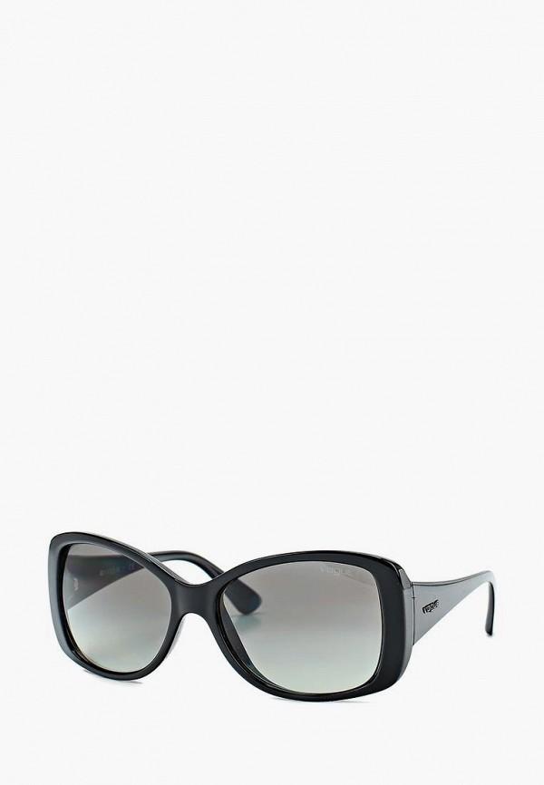 Купить Очки солнцезащитные Vogue® Eyewear, 0VO2843S W44/11, VO120DWDPY21, черный, Весна-лето 2018