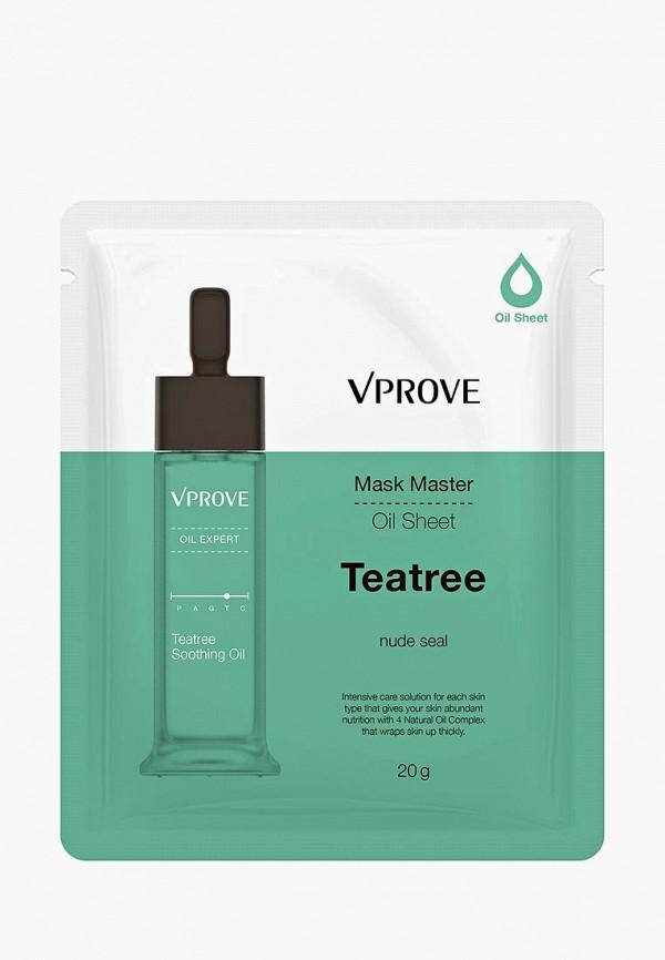 Купить Маска для лица Vprove, на масляной основе Mask Master с чайным деревом, противовоспалительная, 20 г, VP001LWUEM97, Весна-лето 2018