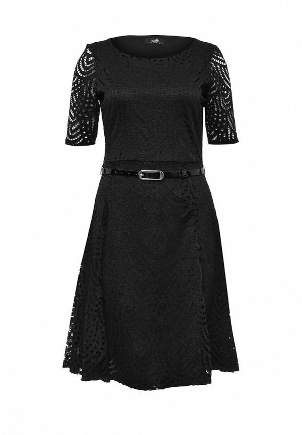 Платье Wallis Wallis WA007EWQBQ97 платье wallis wallis wa007ewqbq97