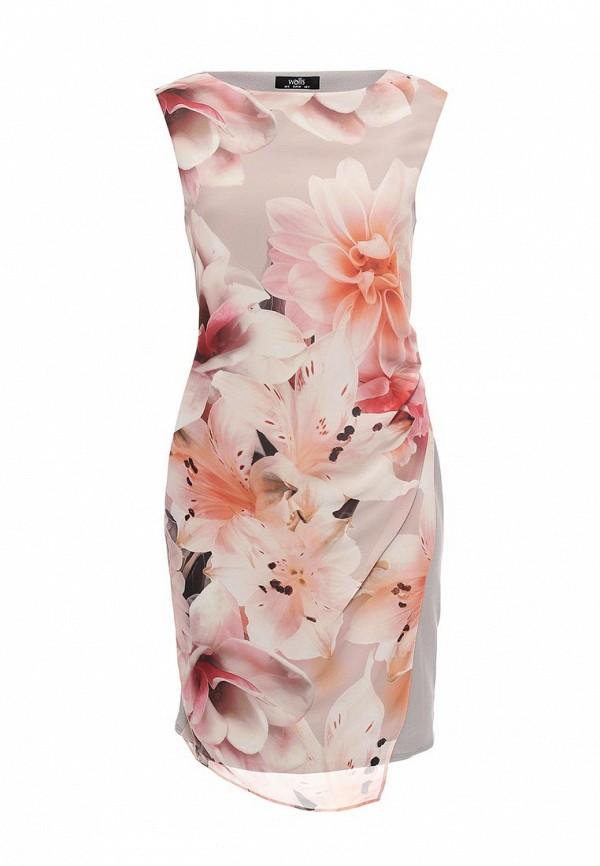 Платье Wallis Wallis WA007EWRKB73 платье wallis wallis wa007ewqbq97