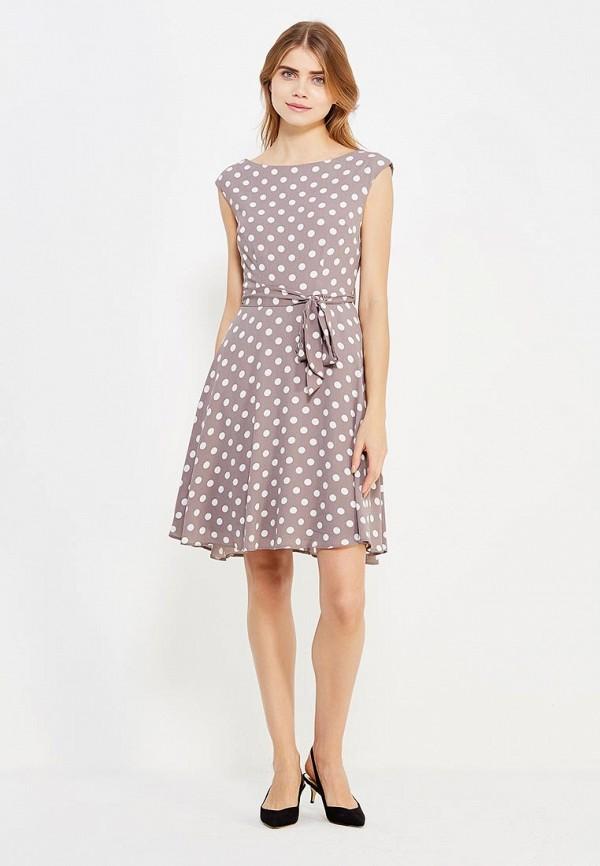 Фото 2 - женское платье Wallis бежевого цвета