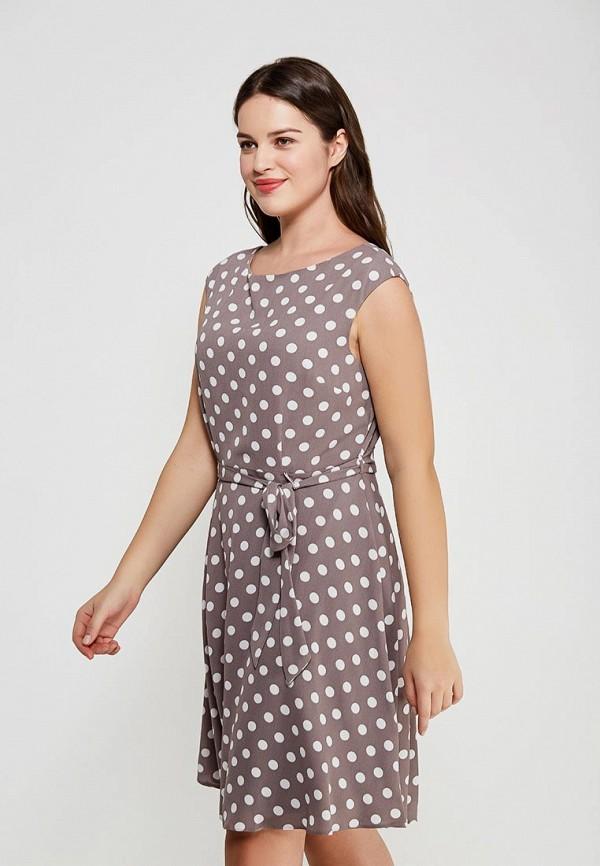Фото 4 - женское платье Wallis бежевого цвета