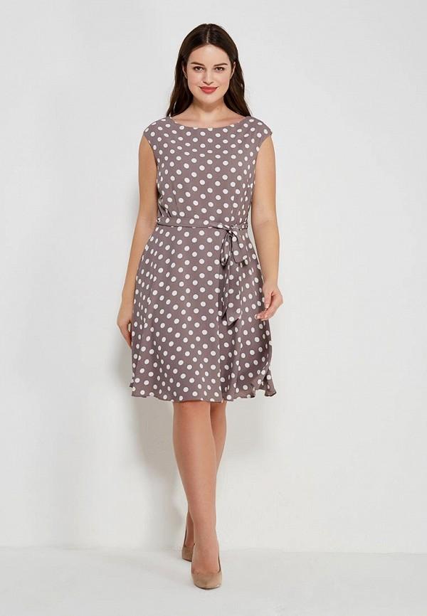 Фото 5 - женское платье Wallis бежевого цвета