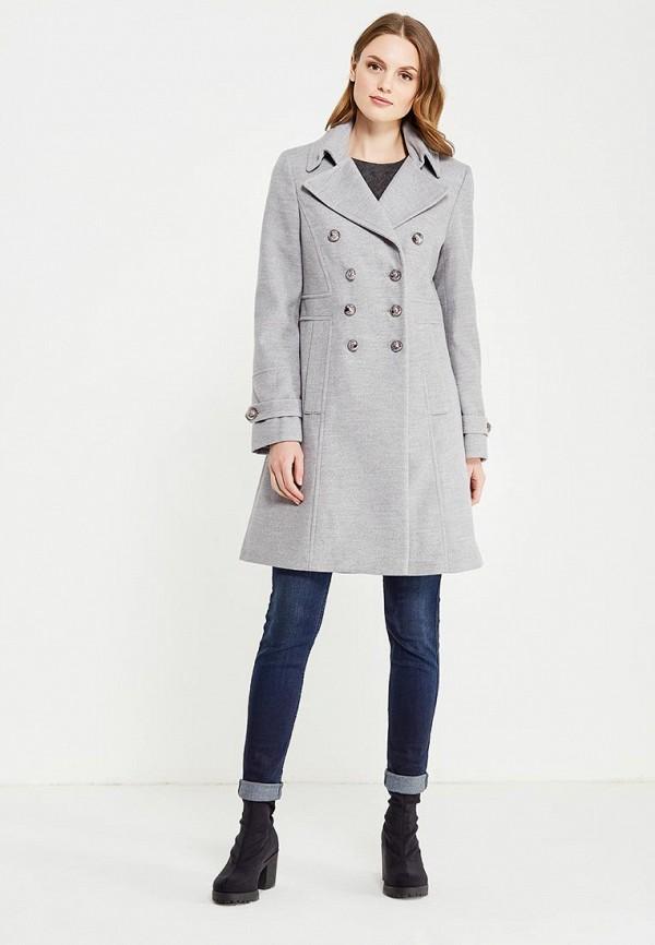 Фото 2 - женское пальто или плащ Wallis серого цвета