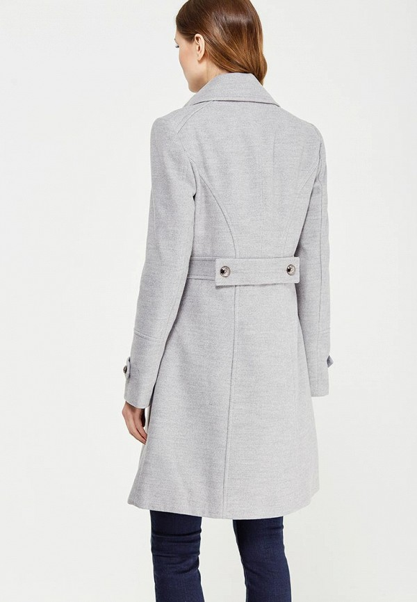 Фото 3 - женское пальто или плащ Wallis серого цвета