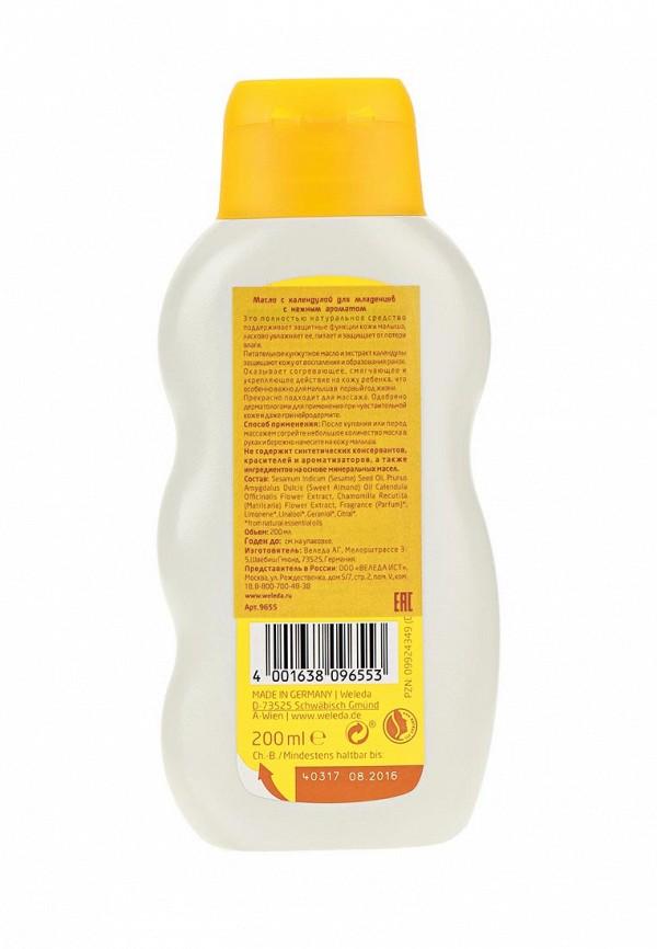 Масло Weleda с календулой для младенцев с нежным ароматом 200 мл