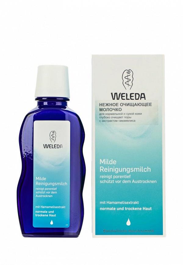 Здесь можно купить Нежное очищающее для нормальной и сухой кожи 100 мл  Молочко Weleda Красота