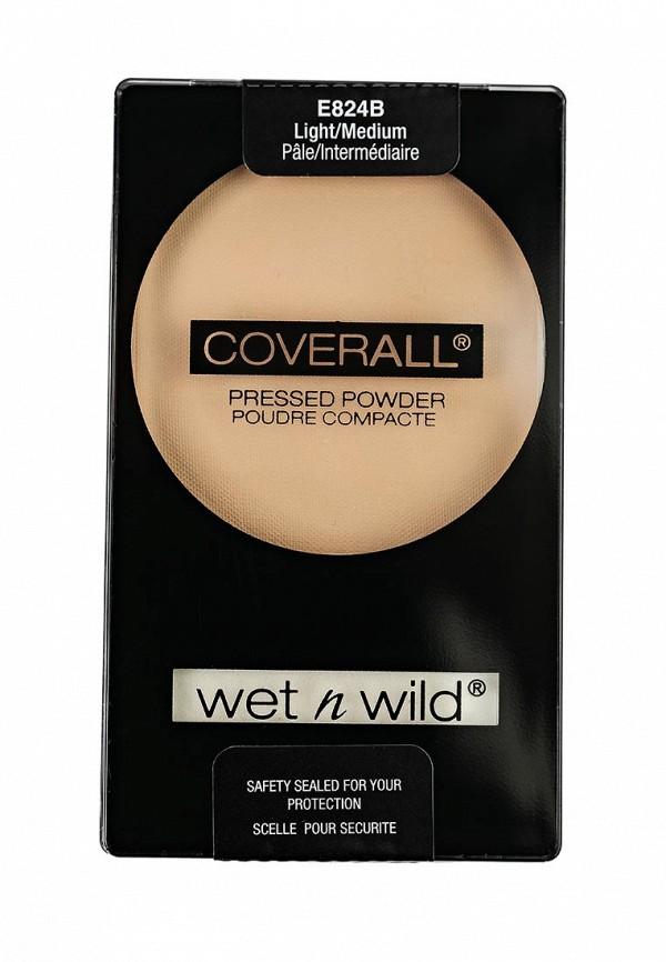Пудра Wet n Wild Компактная Coverall Pressed Powder E824b light medium