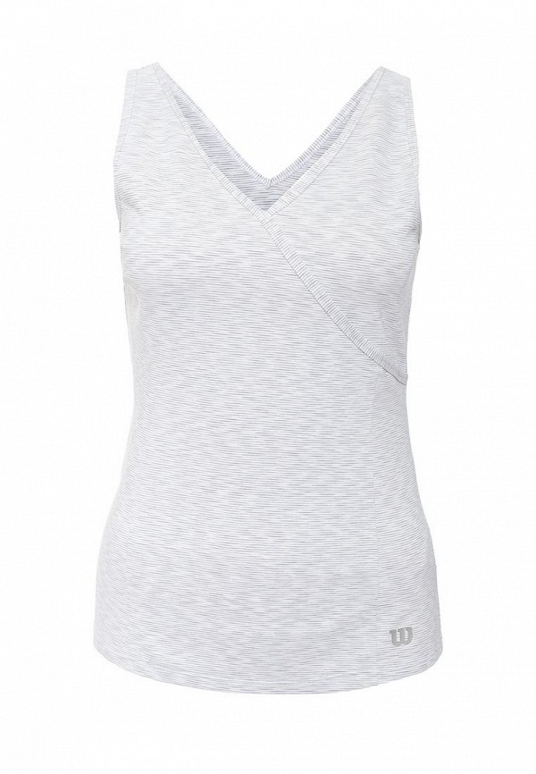 Майка спортивная Wilson W Striated Wrap Tank