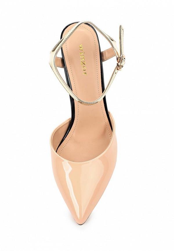 Фото 4 - женские туфли Winzor бежевого цвета
