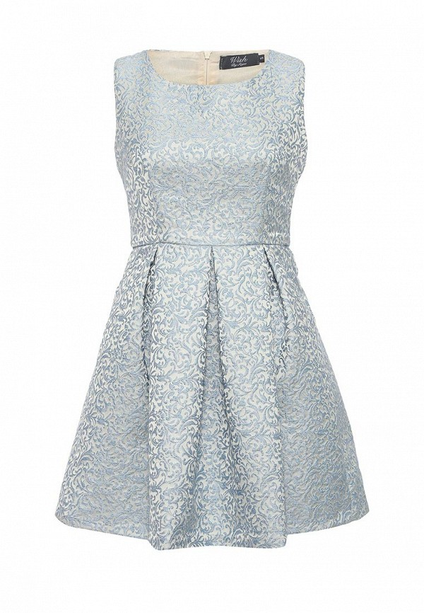 Платье Wish by anjee Wish by anjee WI012EWROZ83 набор для бадминтона wish fusiontec 799k цвет синий