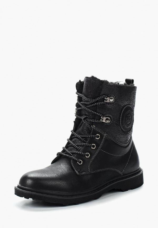 Фото 6 - женские ботинки и полуботинки Wilmar черного цвета