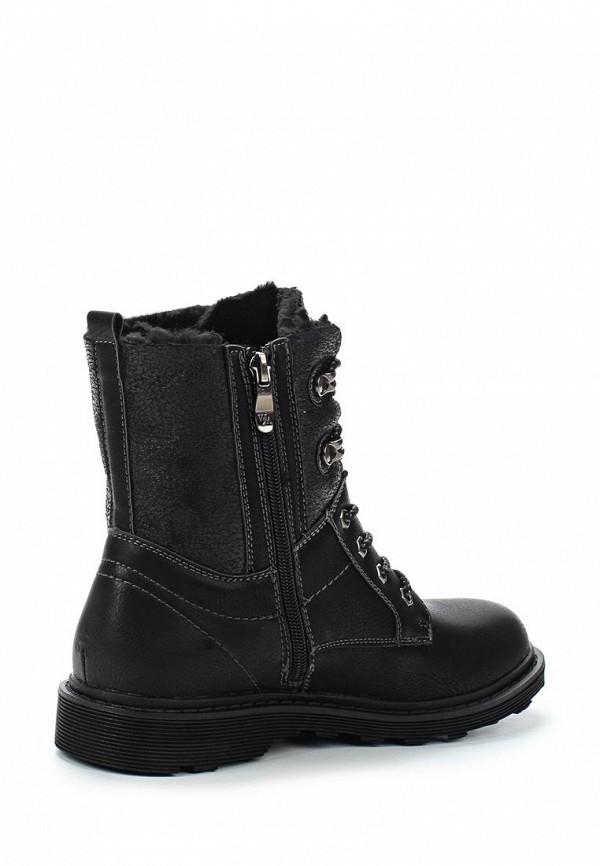 Фото 2 - женские ботинки и полуботинки Wilmar черного цвета