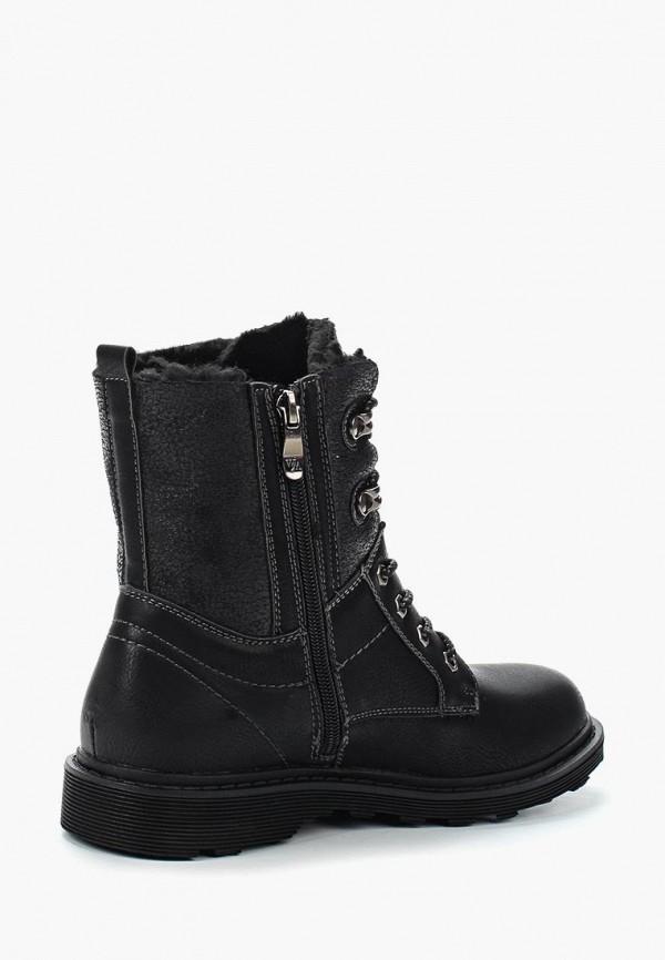 Фото 7 - женские ботинки и полуботинки Wilmar черного цвета