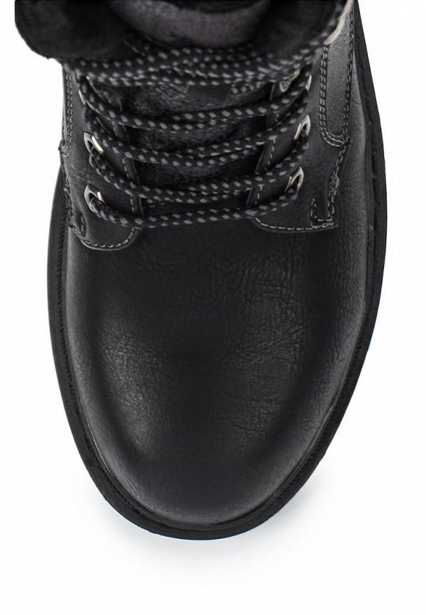 Фото 4 - женские ботинки и полуботинки Wilmar черного цвета