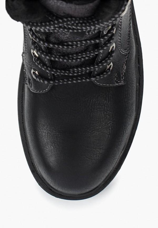 Фото 9 - женские ботинки и полуботинки Wilmar черного цвета