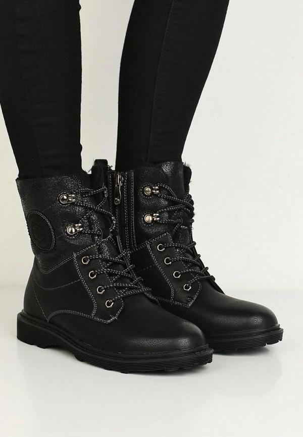 Фото 10 - женские ботинки и полуботинки Wilmar черного цвета