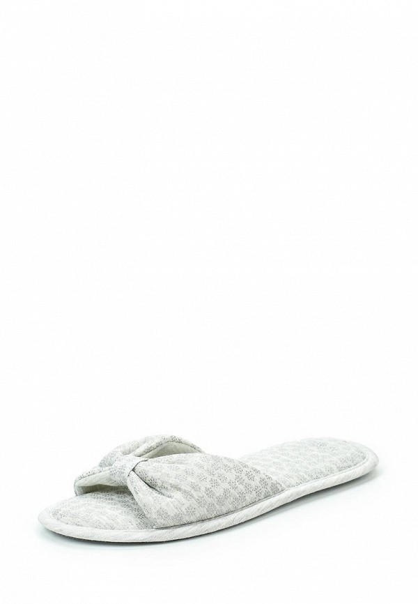 Тапочки womensecret women'secret. Цвет: серый