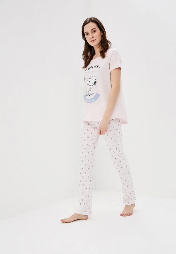 Пижама women'secret women'secret WO004EWAIOE6 пижама turen цвет розовый