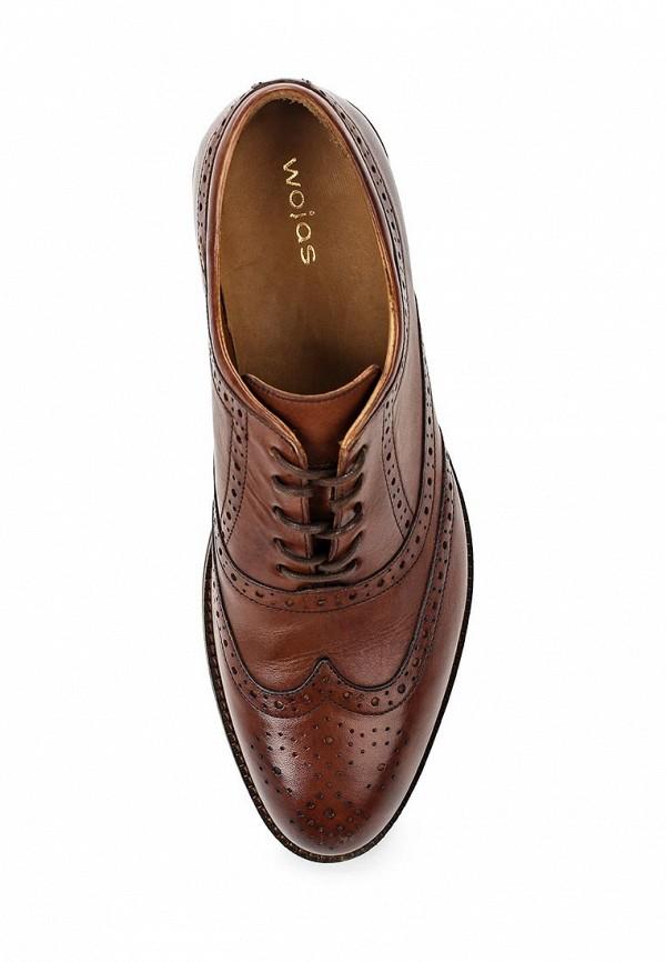 Фото 4 - мужские туфли Wojas коричневого цвета